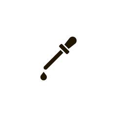 pipette icon. sign design