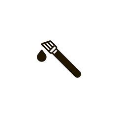 paint brush icon. sign design