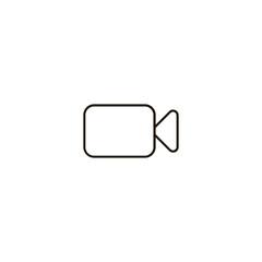 video camera icon. sign design