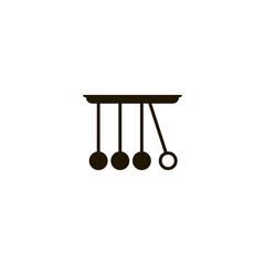 newton cradle icon. sign design