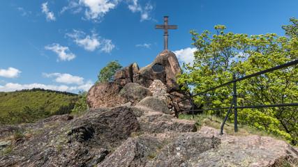 Gipfelkreuz auf dem Ilsenstein