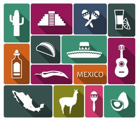 Traditional symbols of Mexico