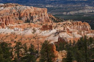 Landscape of Bryce canyon National Park, Utah, USA