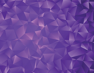 Vector low poly template. Creative abstract illustration with gradient. Triangular pattern for your business design.