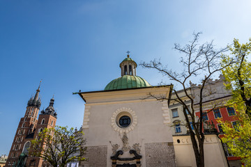 L'église Saint-Wojciech de Cracovie