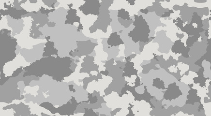 Print texture military camouflage repeats seamless army gray monochrome hunting