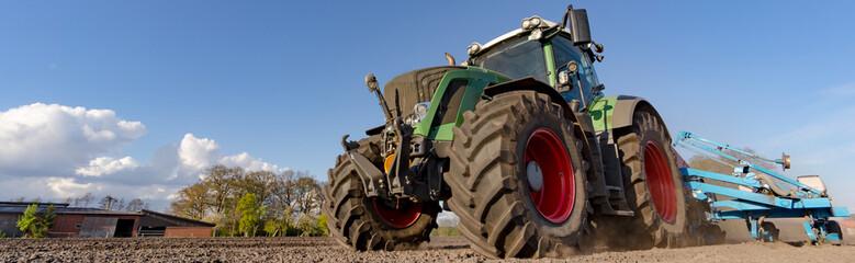 Traktor - Bodenbearbeitung, Banner