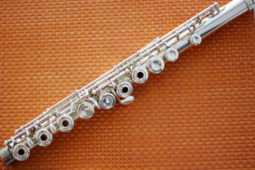A close-up flute