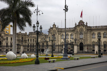 Presidential Palace in Lima, Peru