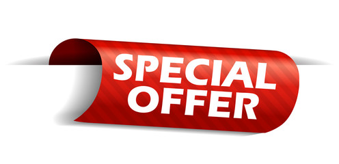 banner special offer