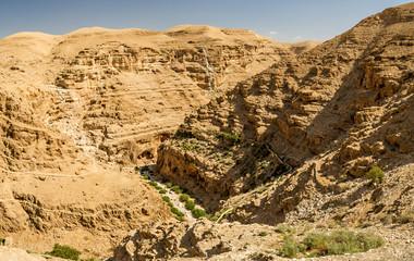 Judaean Desert in the Holy Land, Israel