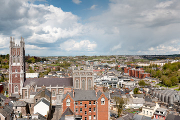 Cathedral of St. Mary and St. Anne, also known as Saint Mary's Cathedral, The North Cathedral or The North Chapel, is a Roman Catholic cathedral located in Cork Wall mural