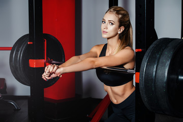 female bodybuilding concept