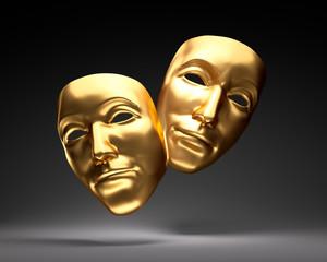 Goldene Theatermasken