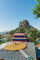 Popa Mountain, Mandalay Region, Myanmar