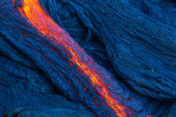 Photo sur Aluminium Volcan Lava