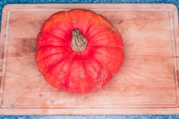 Der Rote Kürbis ein außergewöhnliches Gemüse