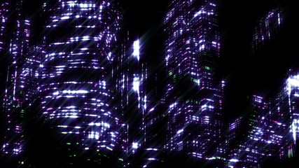 scene of night city.