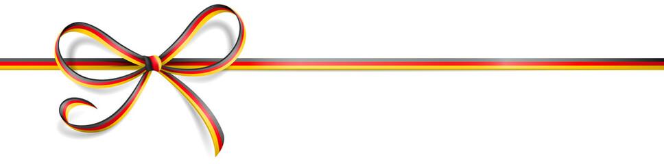 Schleife Band Deutschland WM Fahne Flagge Farben