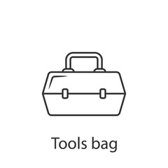 Tool box icon. Simple element illustration. Tool box symbol design from Construction collection set. Can be used in web and mobile