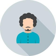 Boy in French Mustache