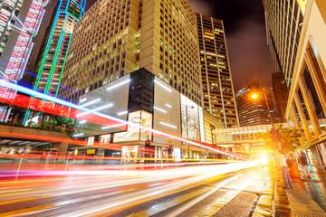 modern city at night Fotomurales