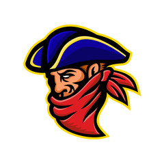 Highwayman or Robber Mascot