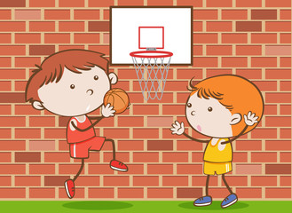 A Vector of Basketball Competition