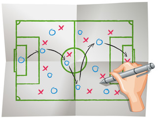 A Vector of Football Planing