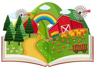 A Farming Pop Up Book