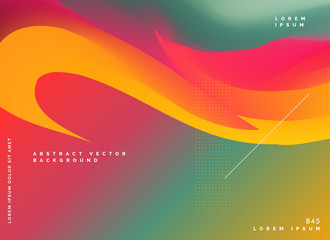 abstract fluid color gradient style background