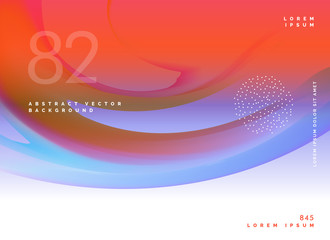 stylish abstract colorful vector background