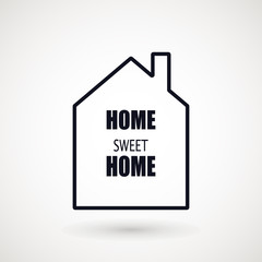 Home icon vector, filled flat sign, solid pictogram isolated on white, logo illustration