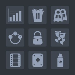 Premium set of fill icons. Such as perfume, bag, newborn, fashion, shirt, sport, blossom, video, water, rattle, baby, bottle, sea, team, graph, flower, entertainment, basketball, equipment, kid, label
