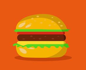 burger symbol hamburger icon design