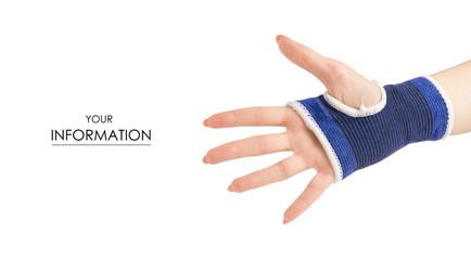 Bandage on the arm medical pattern