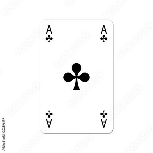 Spielkarte Kreuz