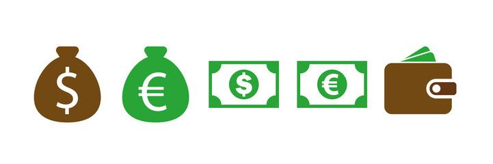 Symbol-Set - Geld