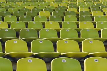 Stadiontribüne, München, Deutschland