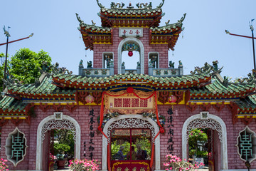 A temple in Hoi An, Vietnam.