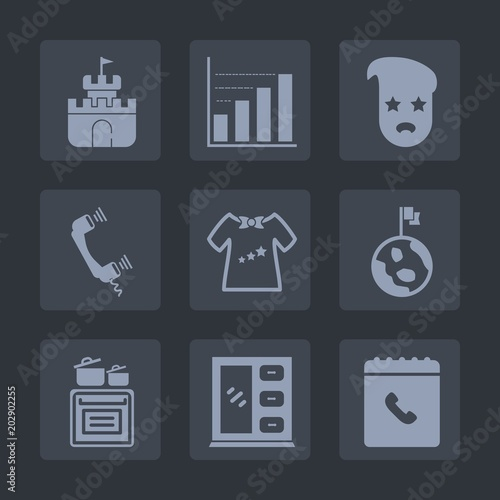 ac2ecfc7d Premium set of fill icons. Such as kid
