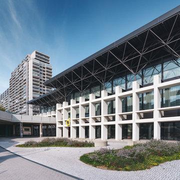 Gebäude außen in München