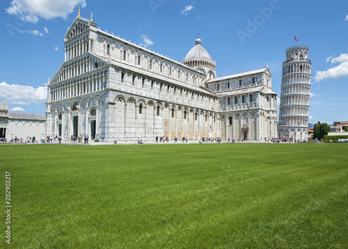 Fototapete Leaning tower of Pisa, Italy