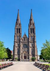 Church of St. Ludmila in Prague, Czech republic