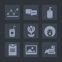 Premium set of fill icons. Such as construction, art, report, nature, scary, machinery, picture, clean, shipping, package, chart, graph, bar, flower, stats, business, circus, liquid, equipment, speech