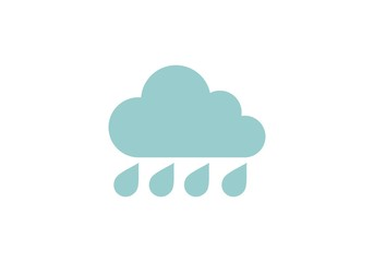 Rain logo vector