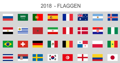 Länder Fahnen