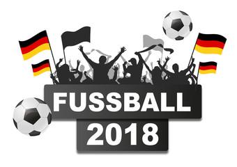 Fussball Fans 2018