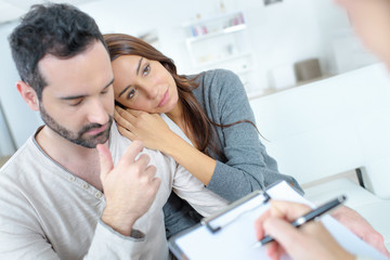 couple having therapy