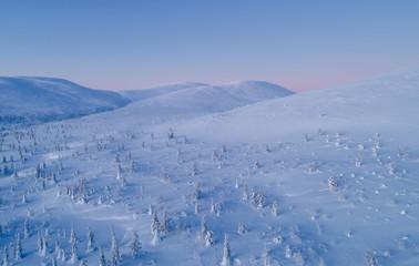 Arctic hills